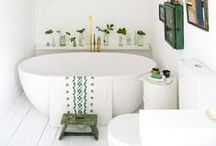 ~ Bathrooms ~ / Design Monarchy's favourite and most beautiful bathroom design finds. A large collection of bathroom ideas and interior inspiration...