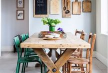 ~ Dining ~ / Design Monarchy's favourite and most beautiful dining room design finds. A large collection of dining room and eating area ideas and interior inspiration...