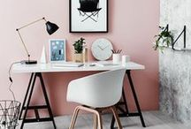 ~ Office & Workspace ~ / Design Monarchy's favourite and most beautiful workspace design finds. A large collection of gorgeous home office, workspace and study area ideas and interior inspiration...