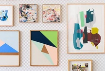 ~ Gallery Walls ~ / Gallery Walls / Wall Collections / Art Groupings / Wallscapes