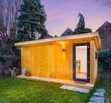 The Expression / A fantastic range of our Expression Garden Rooms.  Hope onto our configurator and start designing your own! http://www.greenretreats.co.uk/garden-rooms/expression-garden-offices.html