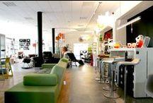 Der Showrooom / In unserem Showroom können Sie alle unsere verfügbaren Möbel anschauen, anfassen und Probewohnen:  Wohn Design Unterreut 7 76135 Karlsruhe