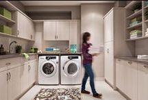 Laundry Rooms / In the past, laundry rooms have been largely overlooked as simply utility and not worth the expense or investment. How things have changed!