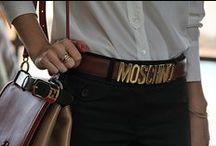 MOSCHINO BELT / Cintura must e intramontabile, adoro come riesce ad abbinarsi al look esaltandolo e donandogli stile e glamour assolutamente da mettere nella lista dei regali