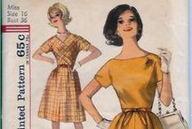 My Vintage Patterns Stash / Here are some of my vintage patterns.