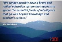 Education / Quotes about education from 3DI Associates