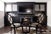 Entertainment Units / Entertainment units usually contain a television and home theatre equipment but they can also be used to display personal items, family photos, artwork or even a bar.