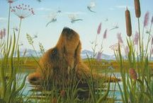 Robert Bissell wonderful art! / Robert Bissell drawings