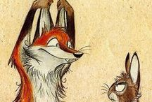 Culpeo-Fox / Funny and wonderful fox art!