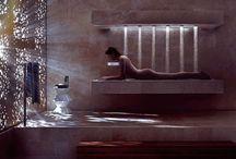 Shower ~ Space design / Интересные, примечательные, современные решения интерьеров с использованием душевых кабин / by Ziggi Stardast
