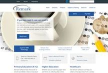 Remark Software new website / Images from our new remarksoftware.com website