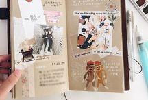 sketchbook/scrapbook ideas