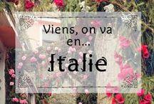 Viens on va en... Italie / Découvrez ici mes plus belles photos d'Italie ! Pays de l'amour, de la bouffe, des beaux paysages... l'Italie, quoi !