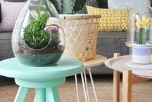 ~ Coffee Table Clusters ~ / table groupings / table collections / table groupings / table scapes
