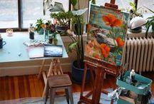 Art studio inspo / We have created an inspo board for your future art studio!