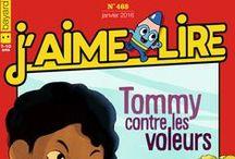 J'AIME LIRE / Le 1er magazine des 7/10 ans.