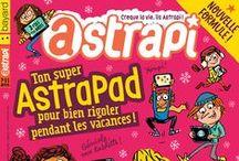 ASTRAPI / Astrapi est le magazine pour les enfants de 7 à 11 ans qui débordent d'énergie. Au programme pour les enfants curieux : BD, enquêtes, bricolages, actualité, blagues et devinettes...
