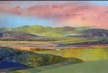 Landscape/Seascape/Citiscape Quilts / by Nancy Wright