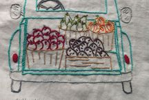 embroidery & crosstitch / embroidery patterns and inspiration--including patterns by me!