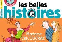 Les Belles histoires / Chaque mois, le magazine Les Belles Histoires est un formidable compagnon pour ouvrir l'imaginaire des enfants de 4 à 8 ans. Les meilleures histoires à partager avec votre enfant feront la joie de votre rituel du soir !