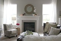 Living room Ideas /    Collection of Thoughts related to         LR Color Schemes & Decor / by Jamie Lindow