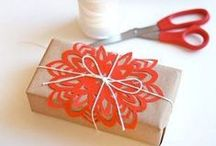 Wrapping, Gift Ideas