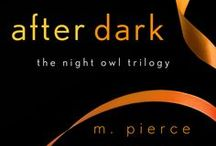 AFTER DARK / Book 3 pins.