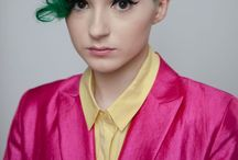 Hair Inspiration / Awesome hair cuts and colours