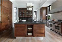 Kitchen Flooring & Design Inspiration / The floor in any room plays a major part in its overall aesthetic and this is no truer than in the heart of any home - the kitchen