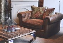 Leather Sofas & Chairs / Curated collection of high quality leather goods found at Annie Mo's. Modern, retro and traditional style, we have it all!