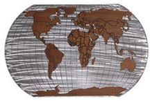 World Traveller Style / Everything to travel the world and make your room look like you already have....