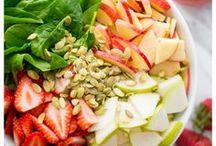recipes: salad / recipes for salads & dressings