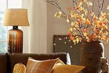 Autumn Interior Inspiration / The colours and tones of Autumn add depth and warmth to any interior.