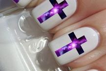 Nail Art / Reflect your message in your nails...many ideas shown here to show the world your love for Jesus.
