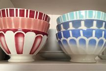 Cafe au lait bowls / by Christina Fagerberg