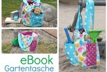 Gartentasche / Sandspielzeugtasche / Spielzeugtasche / Das eBook Gartentasche ist sehr vielseitig: ob als Pflanztasche, Spielzeug- oder Sandeltasche, Woll- und Häkeltasche. Es gibt jede Menge Möglichkeiten. Das EBook gibt es hier: http://de.dawanda.com/shop/keko-kreativ/2632763-EBooks