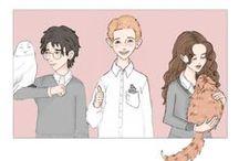 Harry, Ron, Hermiona