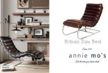 Inspiring Interiors / These inspiring interiors are just a fraction of the Annie Mo's world! Come and explore more at www.anniemos.com