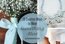 Something Blue... / Inspiration for your something blue xoxo