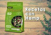 Recetas con Hemp / Deliciosas preparaciones con semilla de cáñamo, mejor conocida como hemp. #Recetas #Hemp