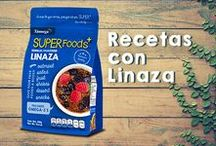 Recetas con Linaza / Preparar comida con #flax seed o #linaza será más fácil que nunca para complementar tu dieta con los nutrientes necesarios. #Recetas