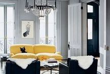 Grey is the new black / Grey is not a dull colour - make it pop by adding a vibrant accent colour!