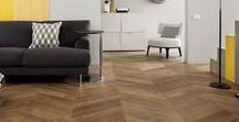 Chevron Pattern Floors