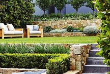 Waterwise landscaped gardens