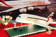 Emirates Airline Birthday Party