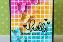 Cards - Distress Inks and Stains