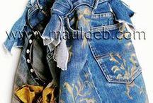 Matildeb's Bag / My creations. refashion bag