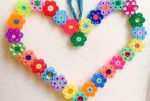 Hama beads - Pyssla / Diseños que me gustan y queiro hacer