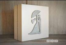 Ślubne szkatułki / ślubne szkatułki na pamiątki,wino,życzenia,pieniądze itp.