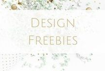 Design Freebies / Free graphics for design and branding.